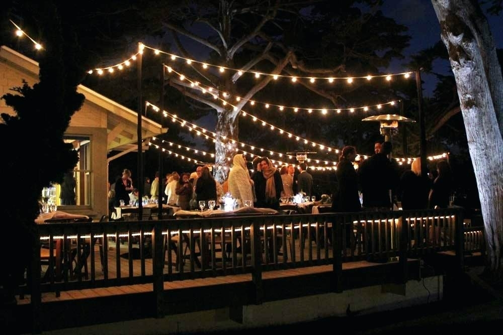 Exterior String Lights Electric Outdoor Beautiful The Best Ideas with regard to Outdoor Hanging String Lights From Australia (Image 1 of 10)