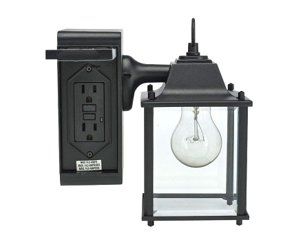 Exterior Wall Light With Outlet Elegant Built In Electrical 91 For within Outdoor Wall Lighting With Outlet (Image 4 of 10)