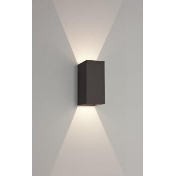 Exterior Wall Lights Modern Astro 7061 Oslo 160 2 Light Led Ip65 throughout Outdoor Exterior Wall Lighting (Image 5 of 10)