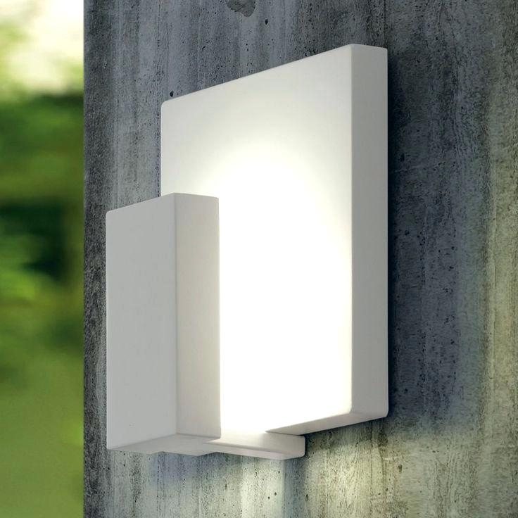 Exterior Wall Mount Lighting Lithonia Lighting Wall Mount Outdoor with Lithonia Lighting Wall Mount Outdoor White Led Floodlight With Motion Sensor (Image 1 of 10)