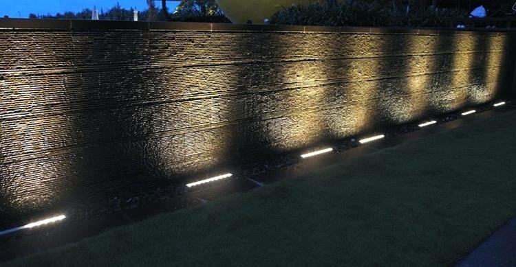 Exterior Wall Wash Lighting Underground Outdoor Led Lights Recessed Pertaining To Outdoor Wall Washer Led Lights (Photo 6 of 10)