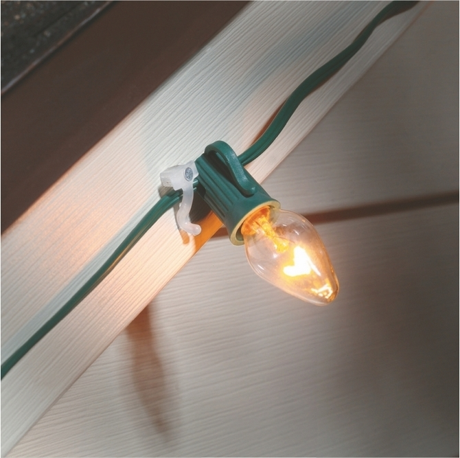 Extraordinary Idea Clips For Outdoor Christmas Lights Hanging Gutter Regarding Outdoor Lights Hanging Clips (View 3 of 10)