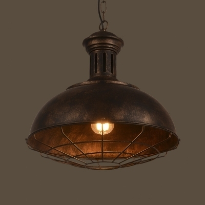 Fashion Style Rust, Pendant Lights Industrial Lighting regarding Industrial Outdoor Hanging Lights (Image 2 of 10)
