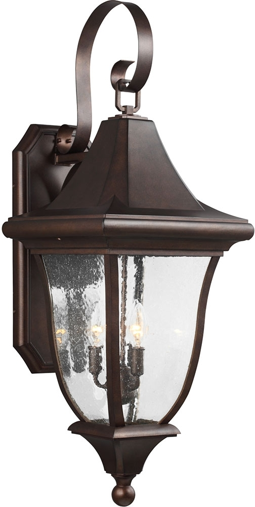 Feiss Ol13102Ptbz Oakmont Patina Bronze Outdoor Wall Lighting - Mf with Bronze Outdoor Wall Lighting (Image 3 of 10)