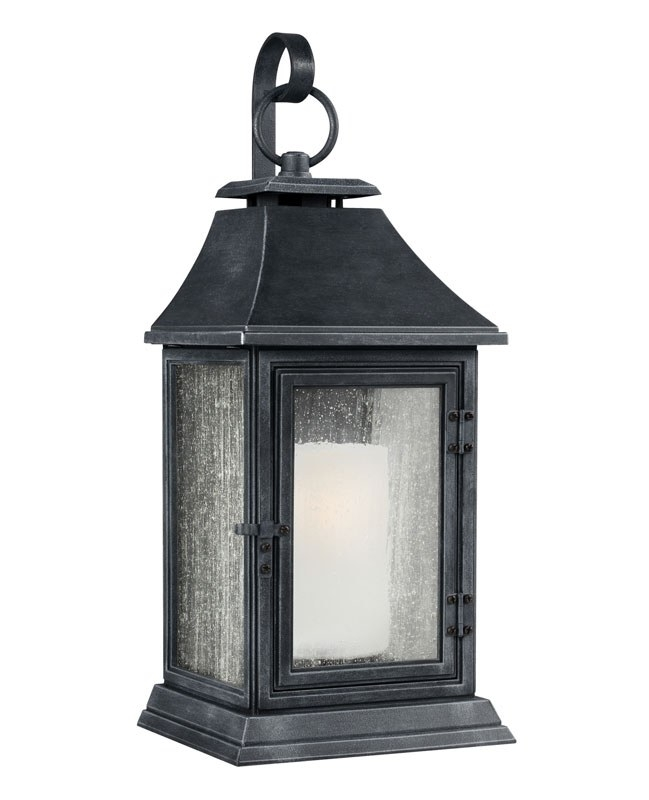 Feiss Shepherd Extra Large Outdoor Wall Light - Broughtons Of with regard to Extra Large Outdoor Wall Lighting (Image 4 of 10)