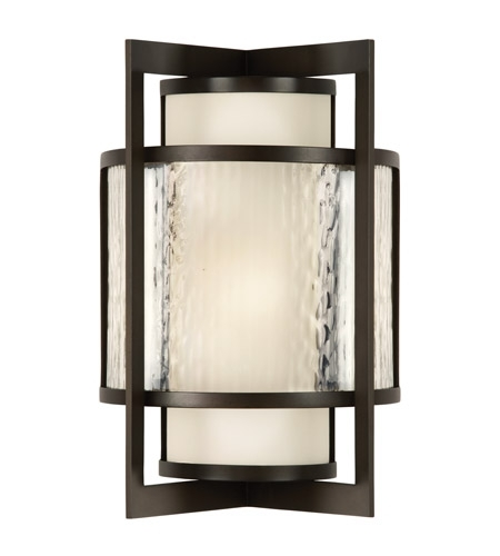 Fine Art Lamps Singapore Outdoor 1 Light Outdoor Wall Sconce In Dark pertaining to Singapore Outdoor Wall Lighting (Image 1 of 10)