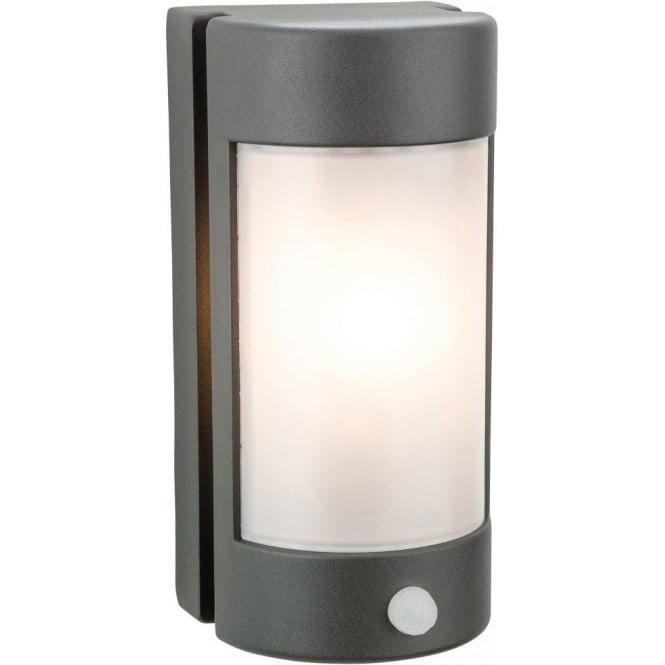 Firstlight Arena Single Light Wall Pir Fitting Die Cast Aluminium In in Outdoor Pir Wall Lights (Image 3 of 10)