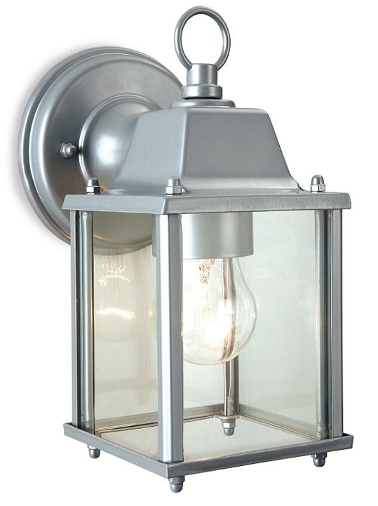 Firstlight Coach Outdoor Suspended Wall Lantern (Silver) | 8666Si for Outdoor Wall Lantern Lights (Image 5 of 10)