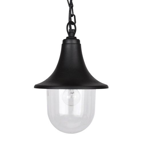 Fisherman Lantern Lamp Style Black Outdoor Security Ip44 Rated intended for Outdoor Hanging Lamps at Amazon (Image 4 of 10)