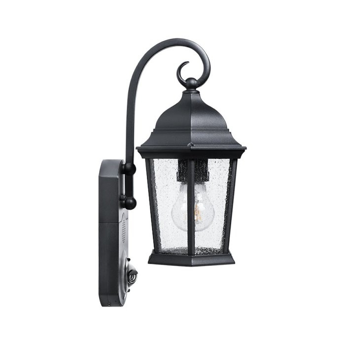 Fleur De Lis Living Hodgkins Security Camera Outdoor Wall Lantern inside Outdoor Wall Lights With Security Camera (Image 6 of 10)