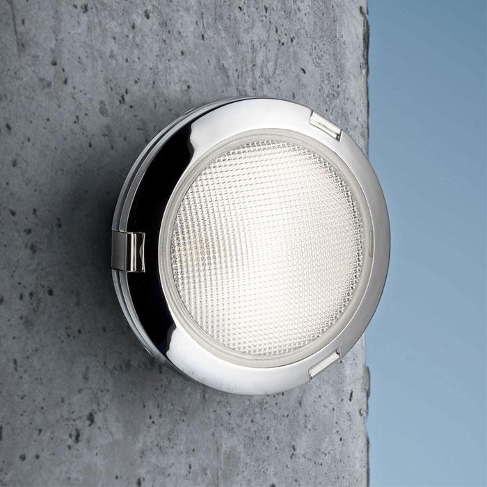 Fontana Arte - Kodo Glass Small Outdoor Wall Ceiling Light Ip65 inside Small Outdoor Wall Lights (Image 4 of 10)