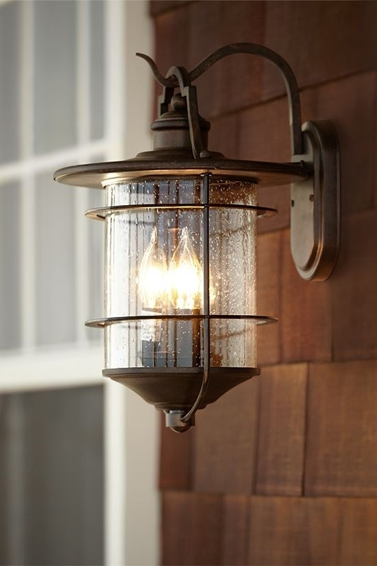 """Franklin Iron Works Casa Mirada 16 1/4"""" High Outdoor Light - Style pertaining to Rustic Outdoor Wall Lighting (Image 3 of 10)"""