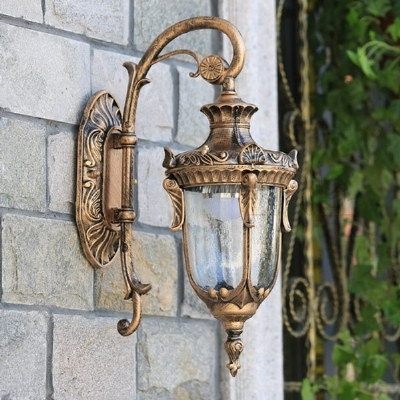 Garden Corridor Wall Lamps | America Vintage Wall Lamp | 16035 in Antique Outdoor Wall Lights (Image 9 of 10)