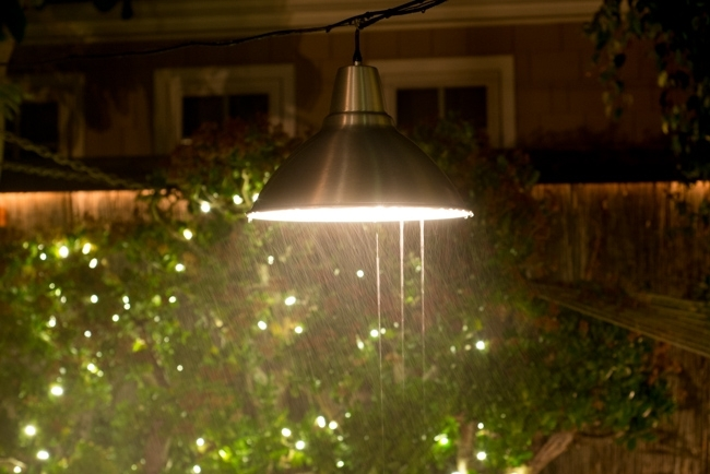 Garden Lighting Idea: This Ikea Pendant Lamp Survives The Socal regarding Ikea Outdoor Hanging Lights (Image 3 of 10)