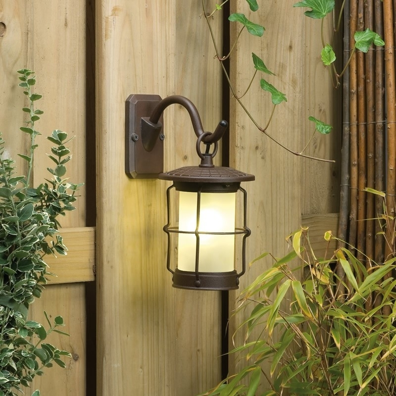 Garden Wall Lights | Outdoor Lighting | Low Voltage | Plug & Play with 12 Volt Outdoor Hanging Lights (Image 3 of 10)