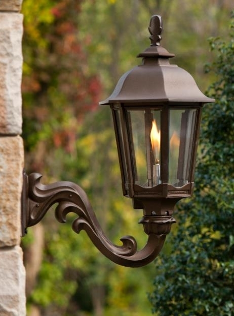 Gas Street Lamp Light Fixtures Easy Living Home Systems Throughout intended for Outdoor Wall Gas Lights (Image 4 of 10)