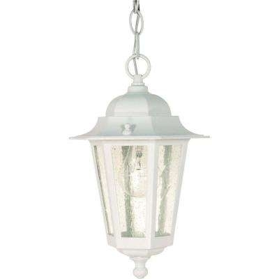 Glomar – Outdoor Ceiling Lighting – Outdoor Lighting – The Home Depot Pertaining To White Outdoor Hanging Lights (View 9 of 10)