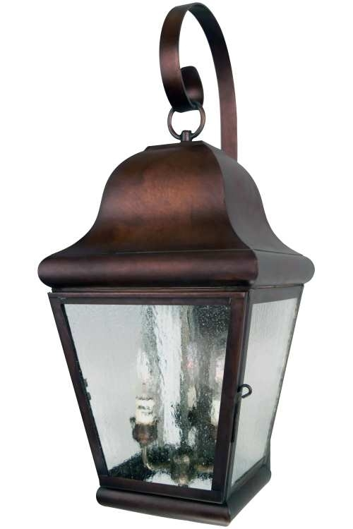 Handmade Copper Lanterns & Outdoor Lighting Made In Usa $600-$699 for Made In Usa Outdoor Wall Lighting (Image 4 of 10)