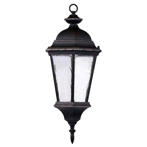 Hanging Coach Light Outdoor Hanging Lantern Wall Light Black Hanging for Outdoor Hanging Coach Lights (Image 6 of 10)