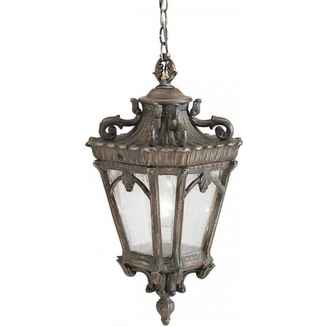 Hanging Front Door Light In Ornate Bronze, Gothic Style, Cast Aluminium with regard to Antique Outdoor Hanging Lights (Image 8 of 10)