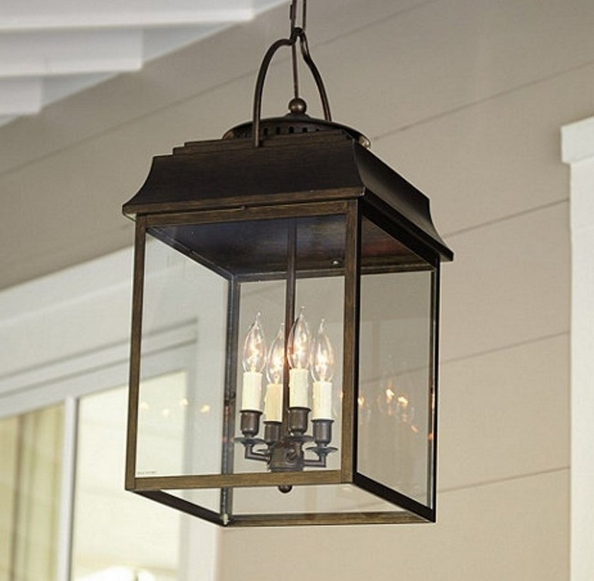 Hanging Front Porch Light Fixtures Home Landscaping Intended For in Outdoor Hanging Porch Lights (Image 6 of 10)
