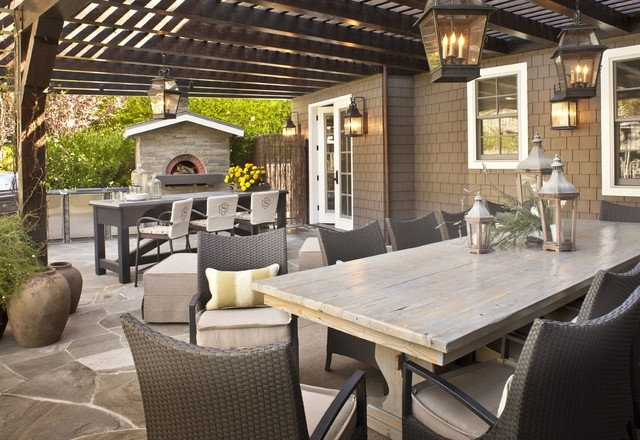 Hanging Lanterns Cast Porches In The Right Light within Outdoor Hanging Patio Lanterns (Image 4 of 10)
