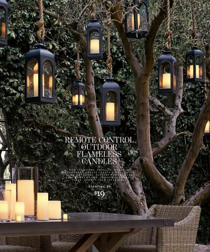 Hanging Lanterns For Trees If I Could Find Something Like This That Within Outdoor Hanging Lanterns For Trees (View 7 of 10)