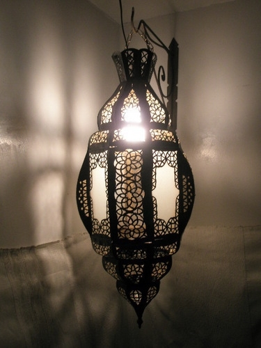 Featured Photo of Outdoor Hanging Moroccan Lanterns