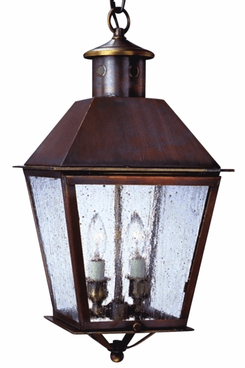 Hanging Pendant Copper Lantern Lights Handmade Electric with regard to Electric Outdoor Hanging Lanterns (Image 5 of 10)