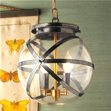 Hanging Porch Lights Outdoor Hanging Porch Lights Round Black Circle in Round Outdoor Hanging Lights (Image 3 of 10)