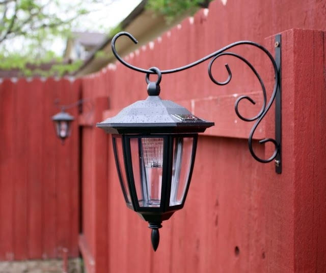 Hanging Solar Lights - Green Vauvat with regard to Outdoor Hanging Solar Lanterns (Image 3 of 10)