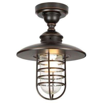 Hardwired - Hampton Bay - Bronze - Outdoor Hanging Lights - Outdoor for Oil Rubbed Bronze Outdoor Hanging Lights (Image 5 of 10)
