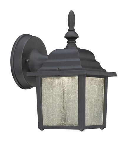 "Harper Led 9-1/4"" Black Outdoor Wall Light At Menards 