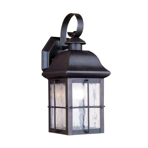 "Hawkins 1 Light 13"" Outdoor Olde Bronze Wall Mount At Menards $40 throughout Vinyl Outdoor Wall Lighting (Image 5 of 10)"