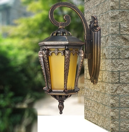 High End Outdoor Lighting Wall Lamps Waterproof Wall Lamp Outdoor with High End Outdoor Wall Lighting (Image 7 of 10)