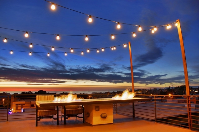 Hill Street - Modern - Deck - Los Angeles -Schneider Custom Homes with regard to Outdoor Hanging Deck Lights (Image 6 of 10)