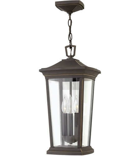 Hinkley 2362Oz Bromley 3 Light 10 Inch Oil Rubbed Bronze Outdoor pertaining to Oil Rubbed Bronze Outdoor Hanging Lights (Image 8 of 10)