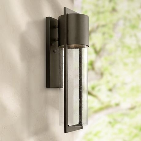 "Hinkley Shelter 20 1/2"" High Indoor/outdoor Wall Light - Style regarding Hinkley Outdoor Wall Lighting (Image 9 of 10)"