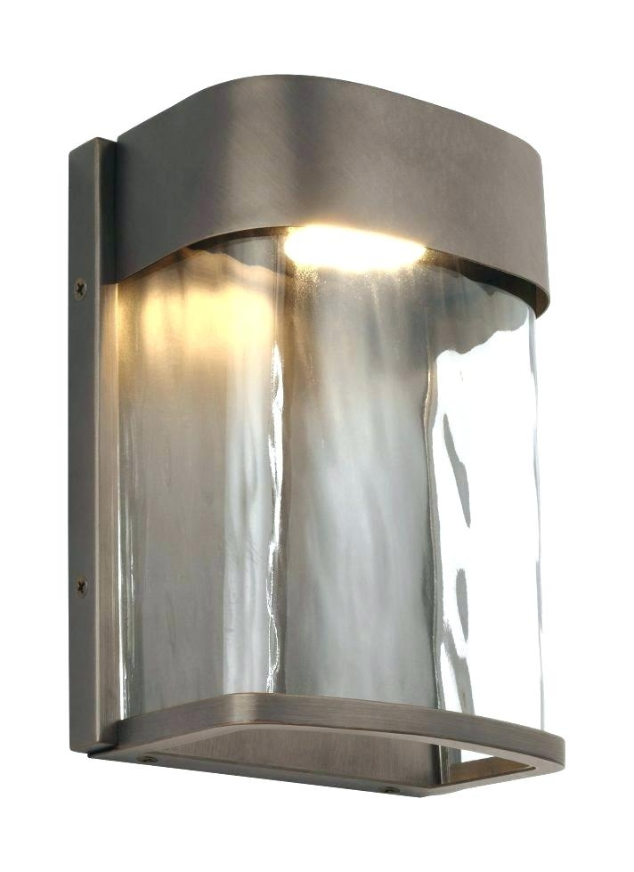 Home Depot Outdoor Wall Lighting Outdoor Wall Mount Motion Sensor Throughout Led Outdoor Wall Lighting At Home Depot (View 4 of 10)