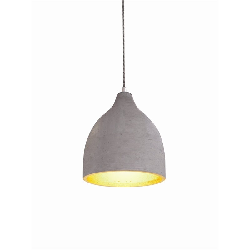 Home Design Bussi Concrete Pendant | Bunnings Warehouse with Outdoor Hanging Lights at Bunnings (Image 6 of 10)
