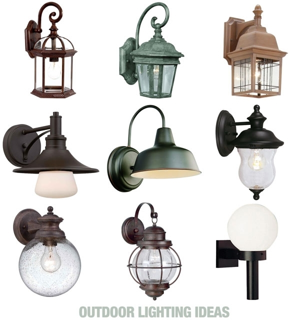 Homeofficedecoration | Home Depot Outdoor Wall Lighting Fixtures with regard to Outdoor Wall Lighting At Home Depot (Image 6 of 10)