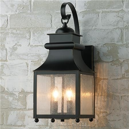 Homesteader Seeded Glass Outdoor Wall Lantern | Carriage House Regarding Outdoor Wall Lighting With Seeded Glass (View 5 of 10)