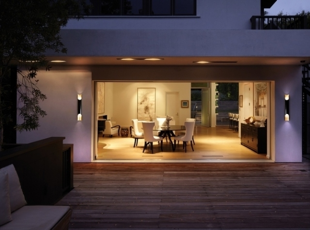 Hottest Outdoor Wall Lighting Trends 2017 | Design Contract in Outside Wall Lights For House (Image 1 of 10)
