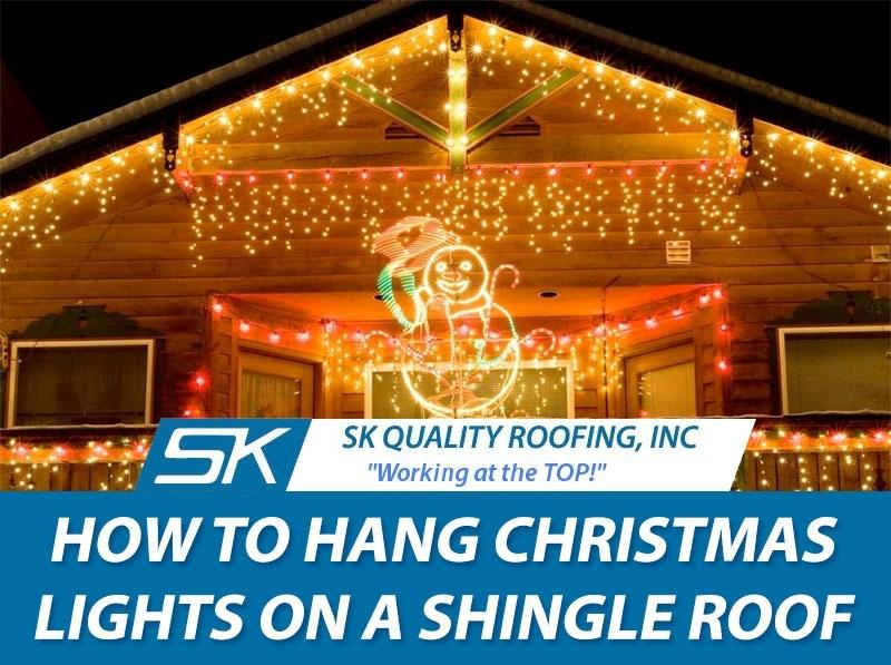 How To Hang Christmas Lights On A Shingle Roof with regard to Hanging Outdoor Christmas Lights in Roof (Image 4 of 10)