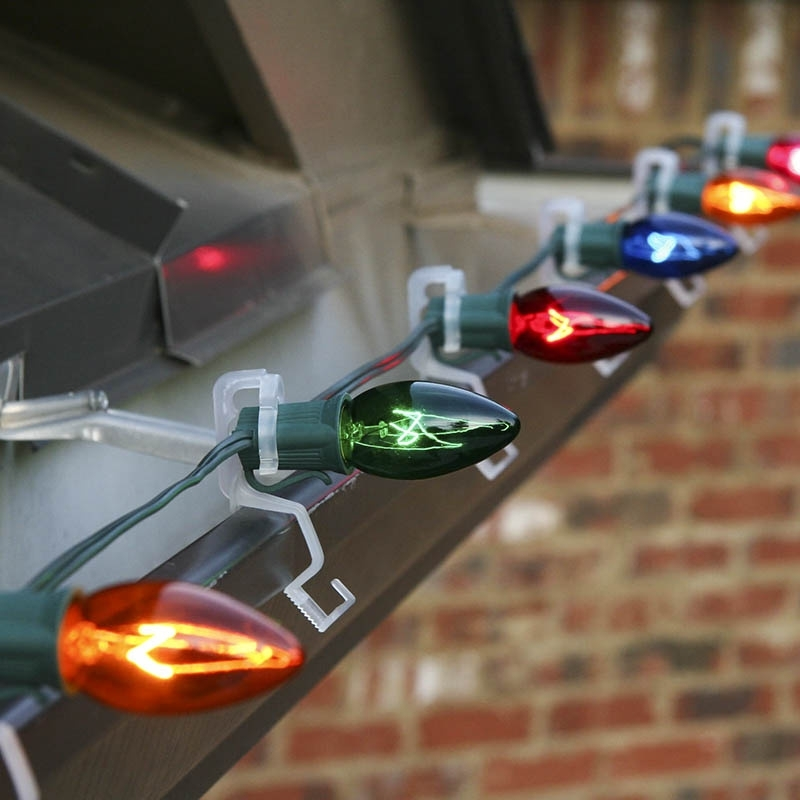 How To Hang Christmas Lights On Gutters with regard to Hanging Outdoor Holiday Lights (Image 3 of 10)