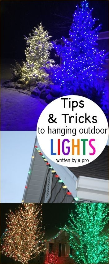 How To Hang Christmas Lights | Outdoor Christmas, Christmas Lights for Hanging Outdoor Christmas Lights Hooks (Image 5 of 10)