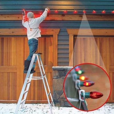 How To Hang Outdoor Christmas Lights | Blueprints Blog in Hanging Outdoor Holiday Lights (Image 4 of 10)