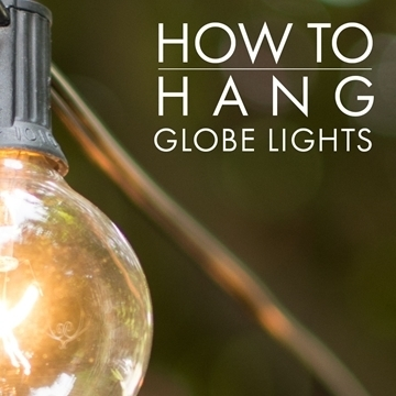 How To Hang Outdoor Globe String Lights With Regard To Outdoor Hanging Globe Lights (View 2 of 10)