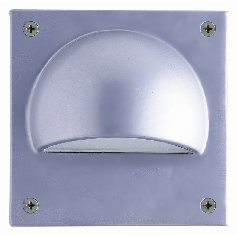 Hpm 12V Square Led Garden Wall Light | Bunnings Warehouse pertaining to 12 Volt Outdoor Wall Lighting (Image 4 of 10)