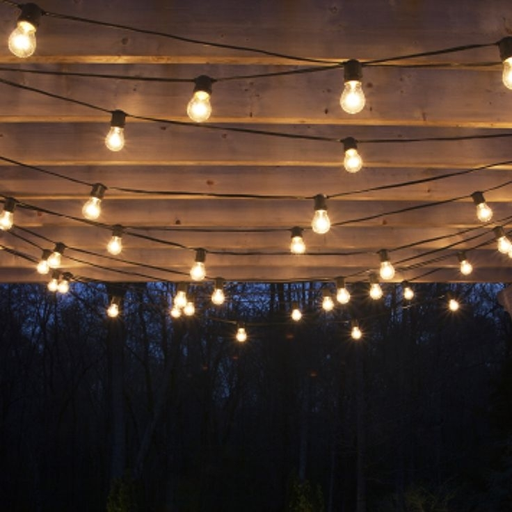 Image Result For Pergola And Fairylights | Garden | Pinterest With Outdoor Hanging Fairy Lights (View 7 of 10)